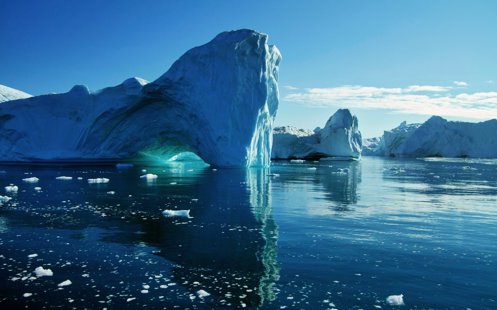Naturaleza Gran Iceberg Wallpaper HD 1920x1200 1600x1000