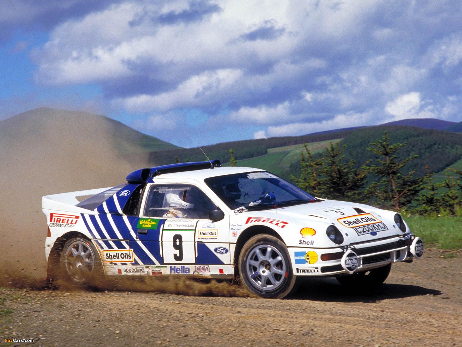 Ford RS200 Group B Rally Car photos 1600 x 1200 1600x1200