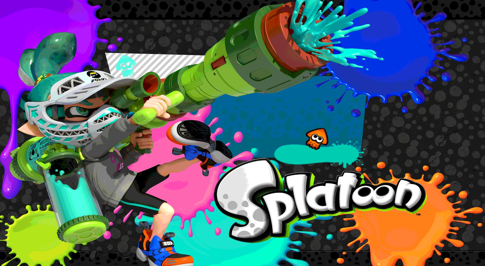 Splatoon   Teal Inkling Boy Wallpaper by DaKidGaming 2000x1100