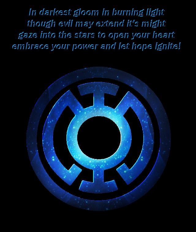 Blue Lantern Oath Wallpaper More like green lantern by 640x759