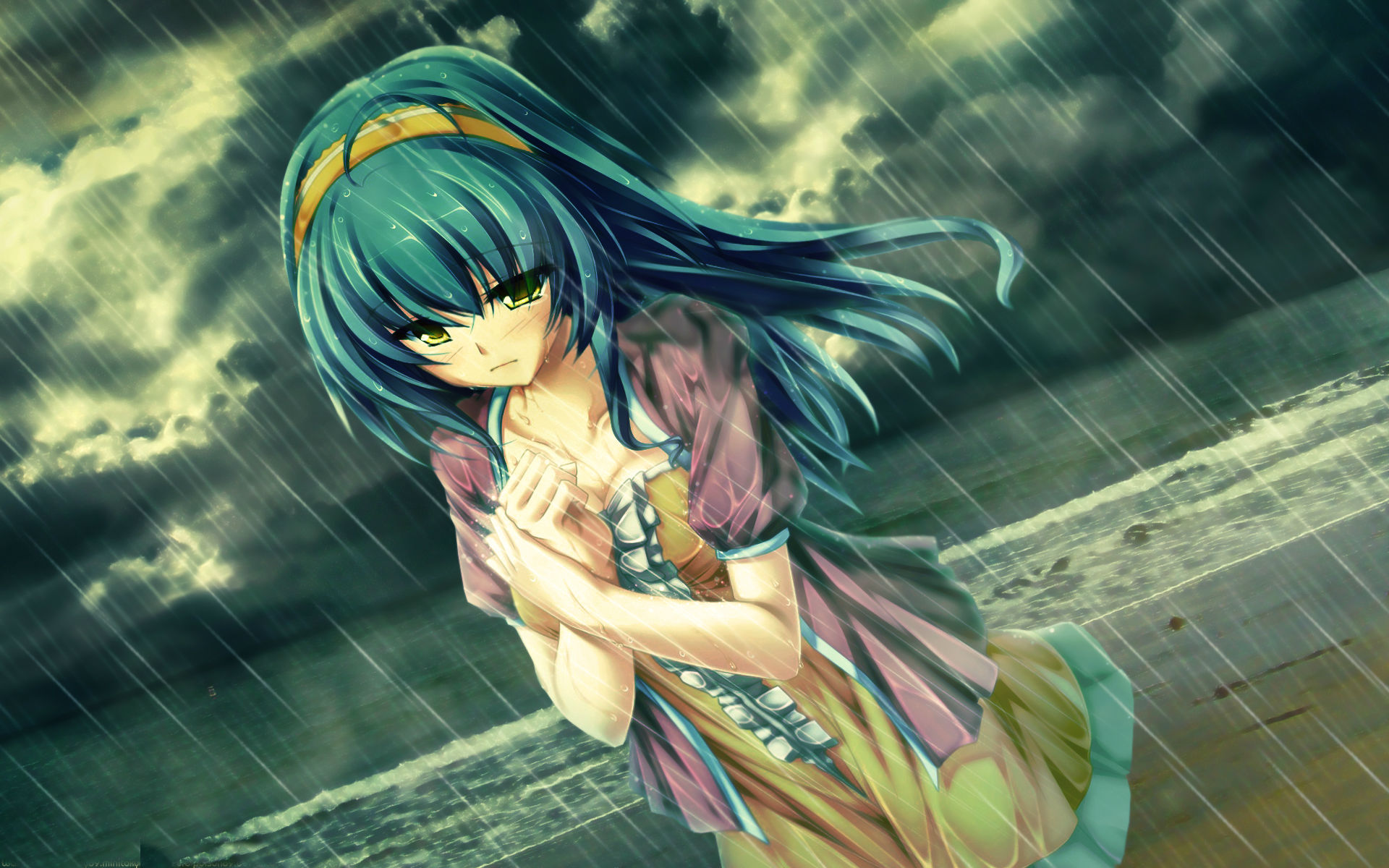 Beautiful hd anime wallpaper wallpapersafari - Anime girl full hd ...