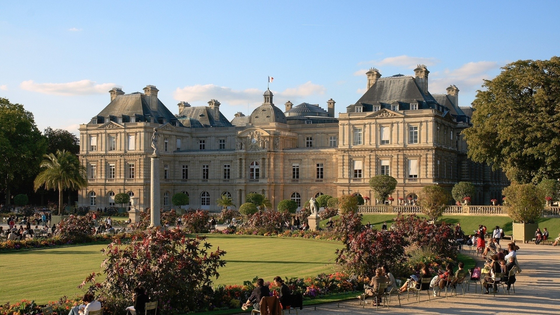Luxembourg Palace Wallpapers and Background Images   stmednet 1920x1080