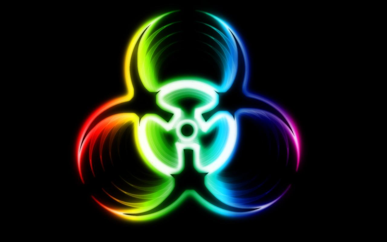 Biohazard logo HD Wallpaper   Companies Brands 1280x800