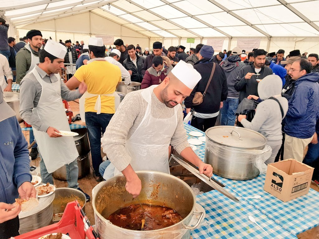 AMYA UK on Twitter Food for thought IjtemaUK2018 is completely 1024x768