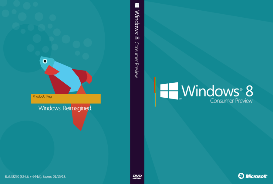 Microsoft Windows 8 Consumer Preview Public Beta Released 900x605