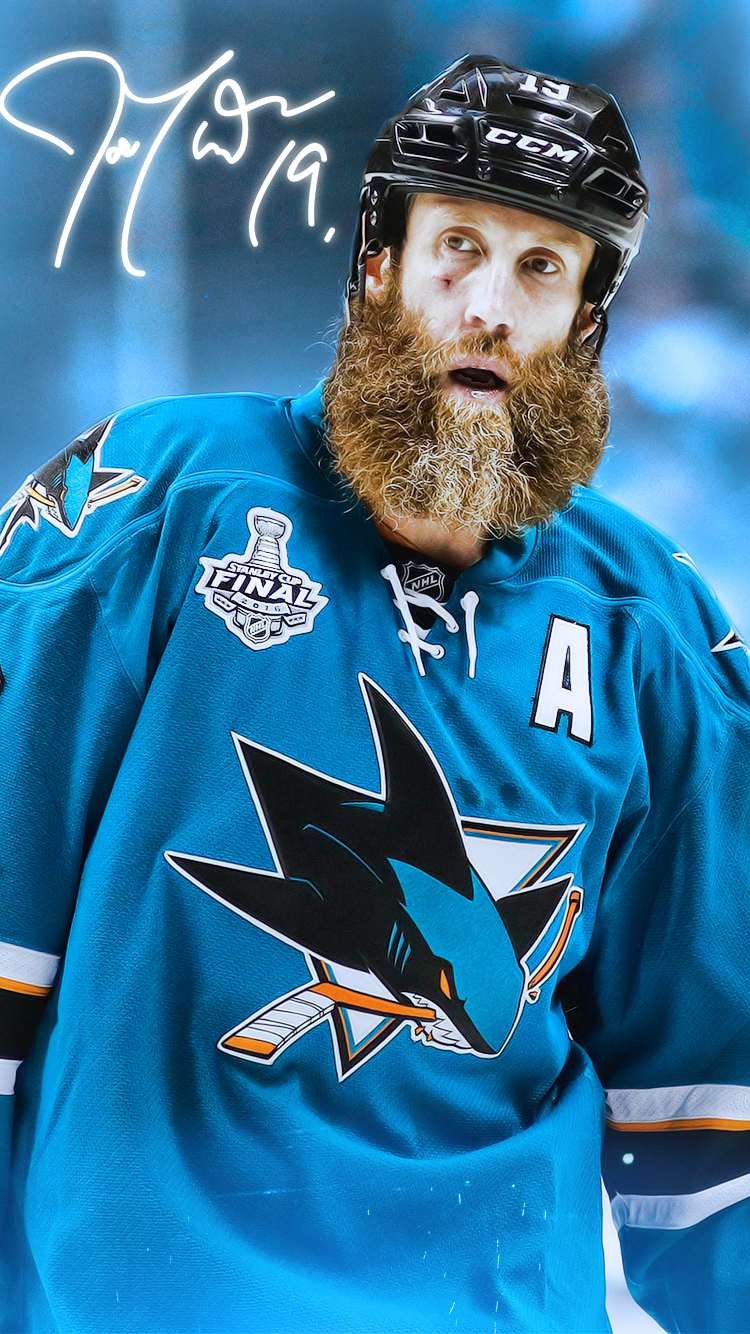 Joe Thornton Phone Wallpaper   Album on Imgur 750x1334