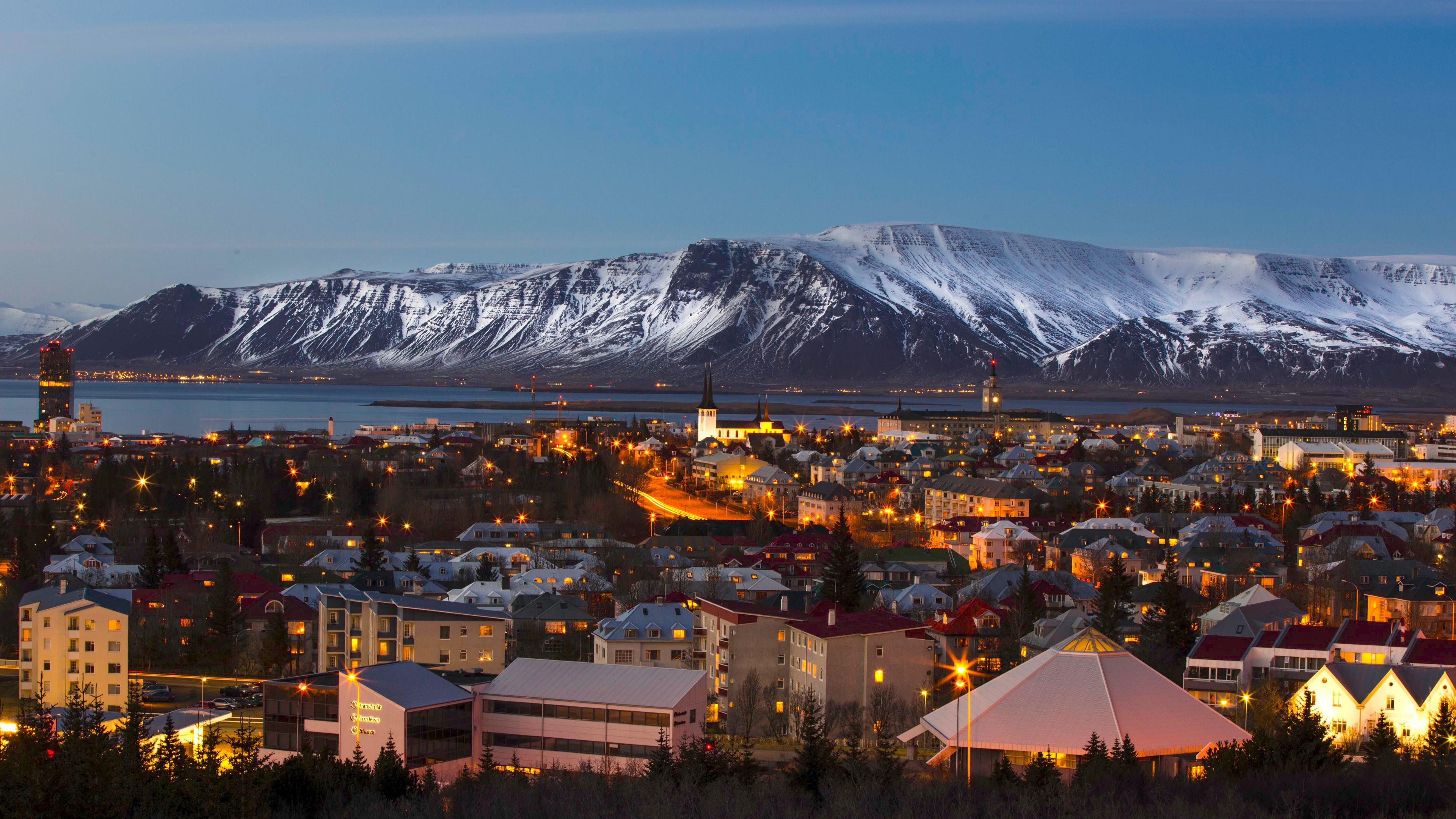 Whaling City Ford >> Reykjavik Iceland Wallpaper - WallpaperSafari