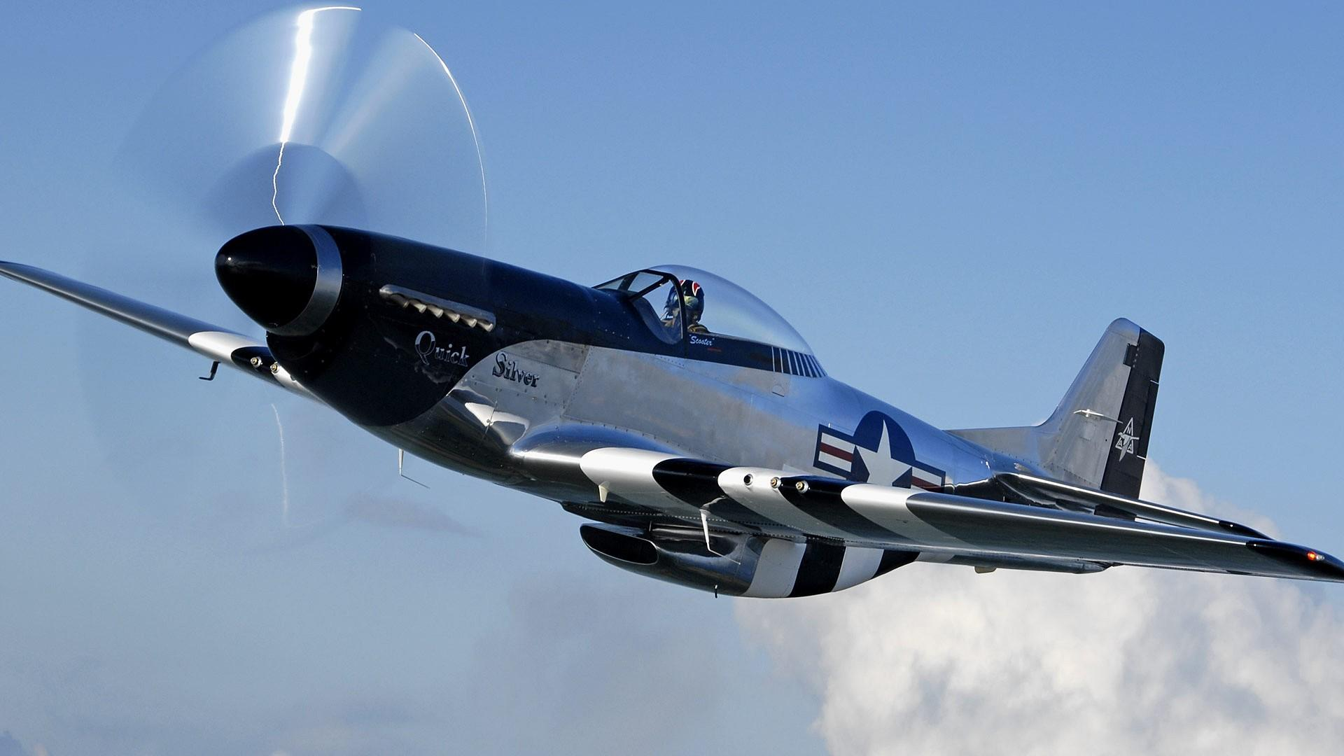 Aircraft warbird p 51 mustang wallpaper 35074 1920x1080