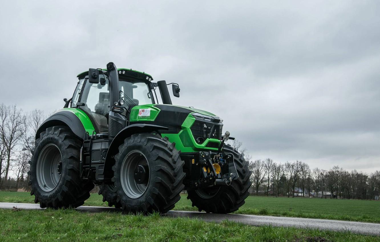 Wallpaper wallpaper tractor agriculture farming Deutz Fahr 1332x850