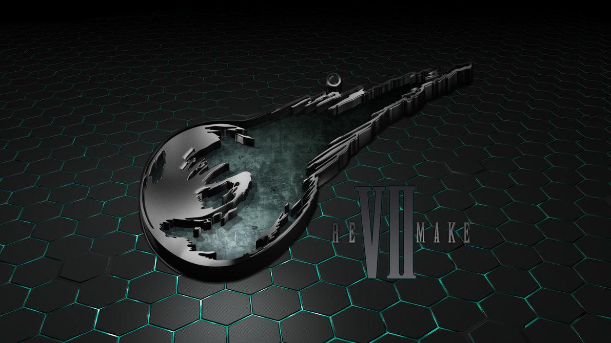 Final Fantasy VII Remake Logo Wallpaper by seraharcana 1191x670