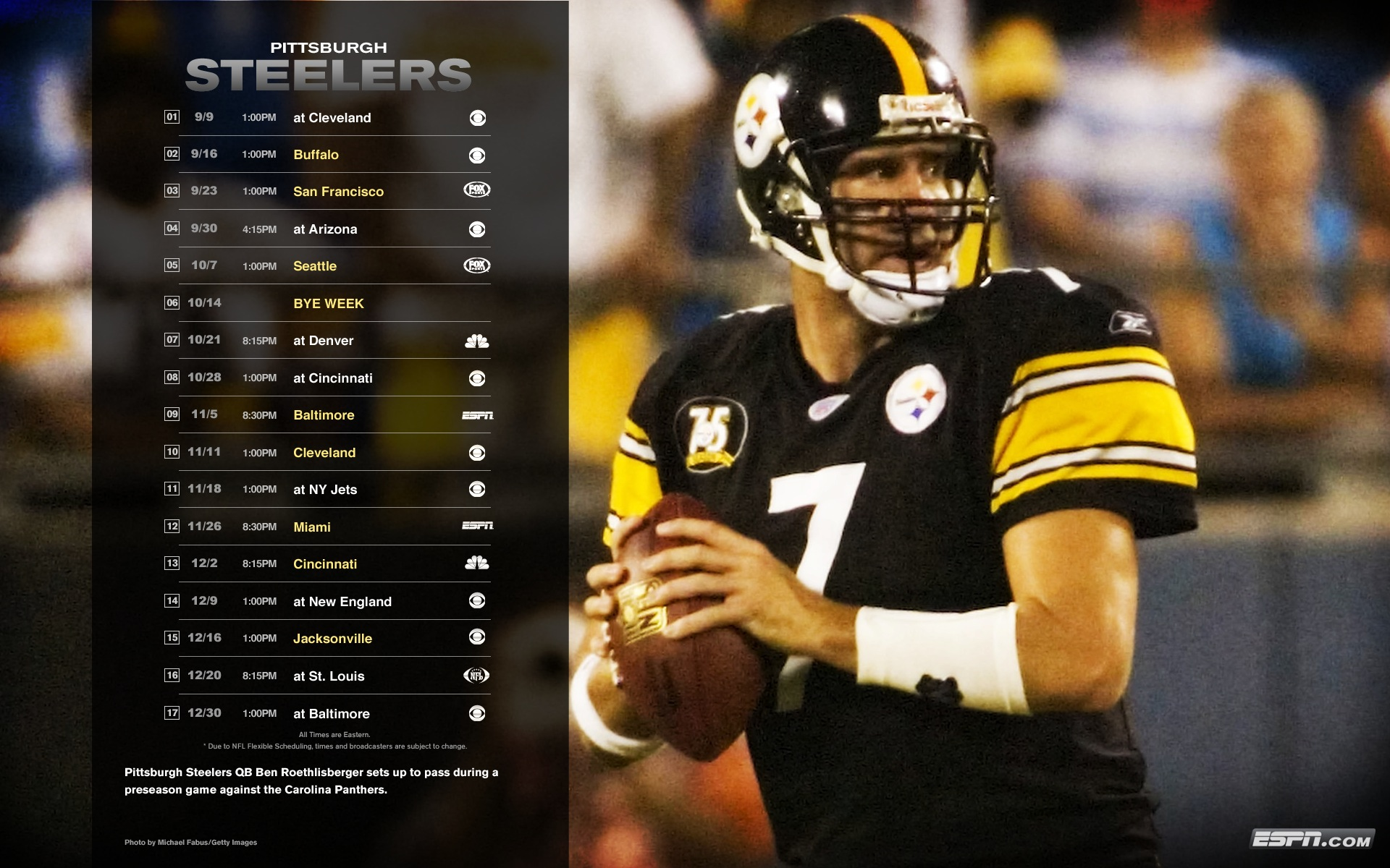 Pittsburgh Steelers Wallpaper Football Background cute Wallpapers 1920x1200