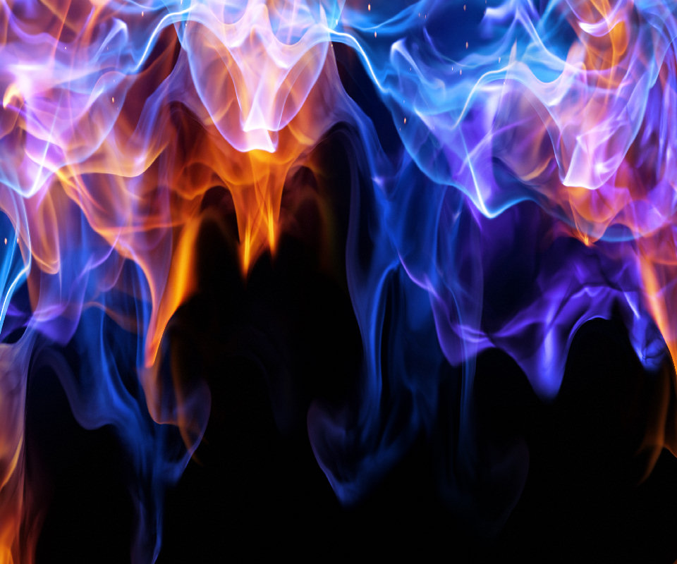 [43+] Red and Blue Fire Wallpaper on WallpaperSafari