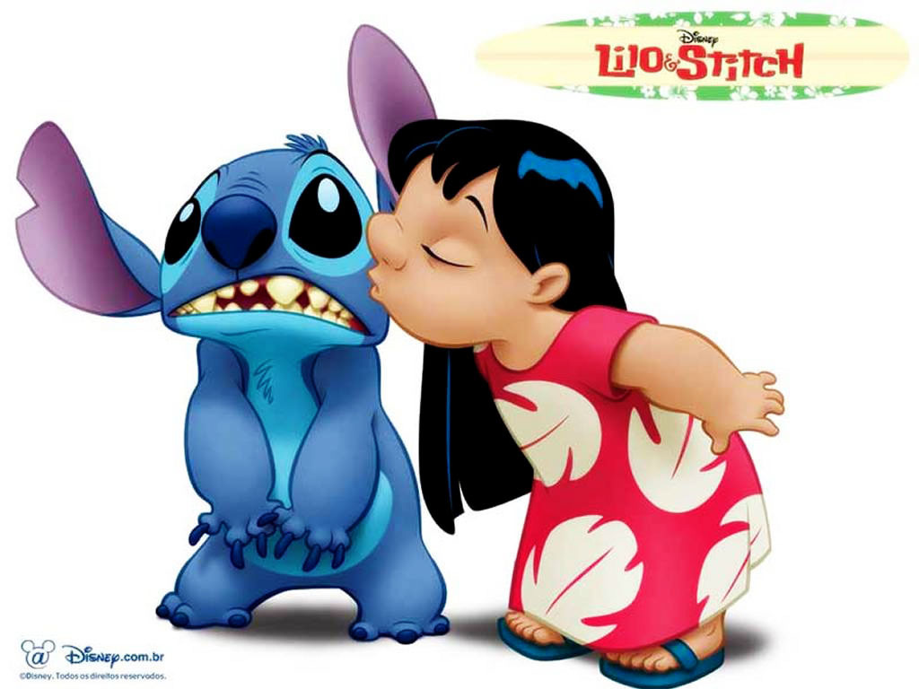 Cute Lilo And Stitch Wallpaper Wallpapersafari