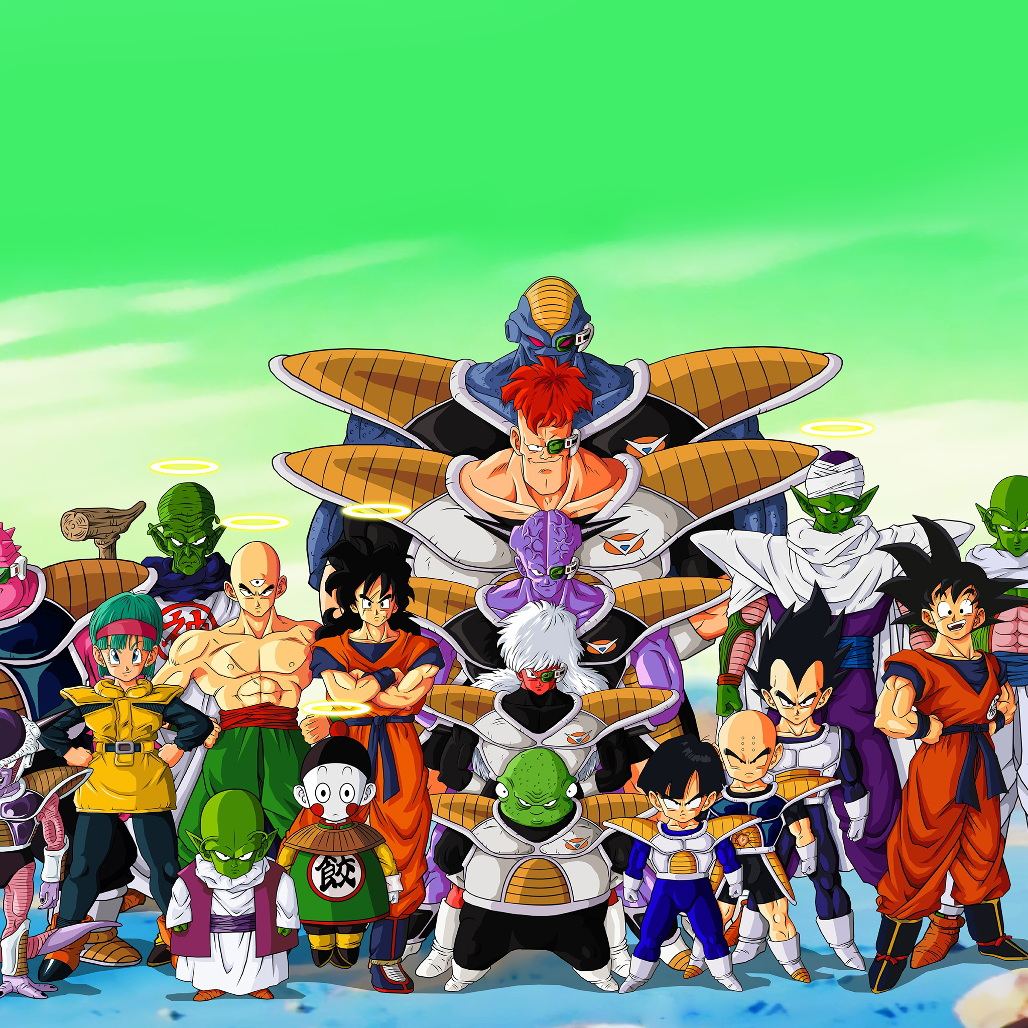 Dragon Ball Z Ipad Wallpaper Wallpapersafari