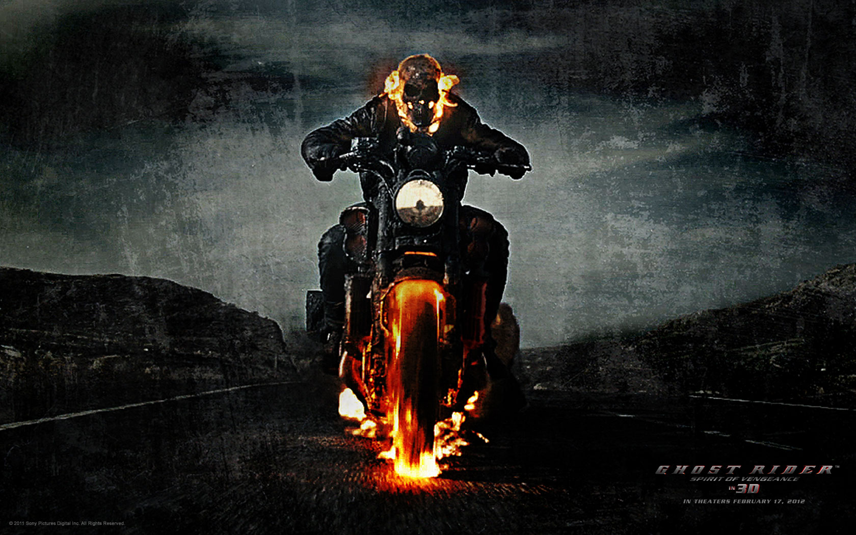 Ghost Rider Spirit of Vengeance 1680x1050
