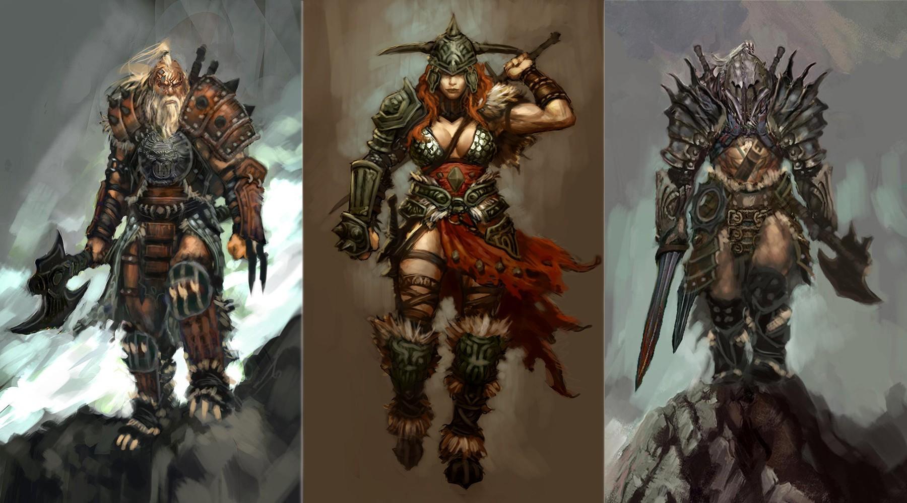 Download Diablo Barbarian Wallpaper 1800x1000 Wallpoper 1800x1000