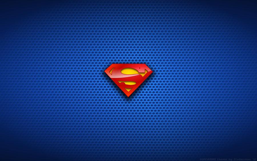 Wallpaper   Classic Superman Logo by Kalangozilla 900x563