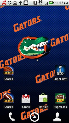 Florida Gators Live Wallpaper App for Android by Smartphones 288x512