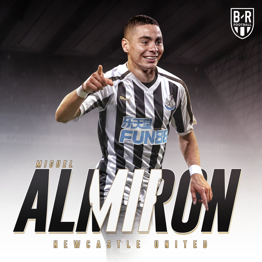BR Football on Twitter BREAKING Newcastle sign Miguel Almiron 1080x1080