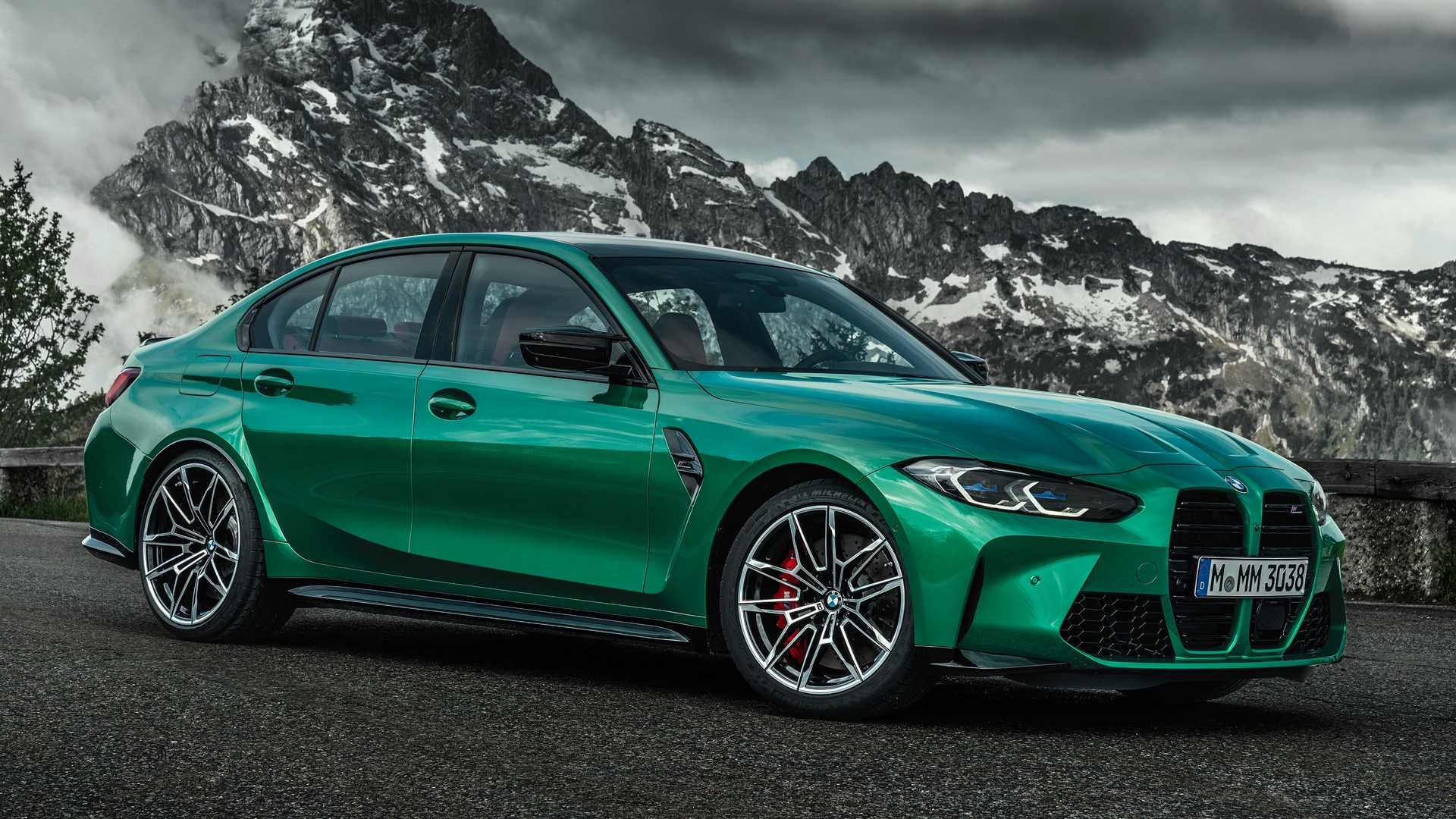 2021 BMW M3 M4 Already Have BMW Individual Color Options 1920x1080