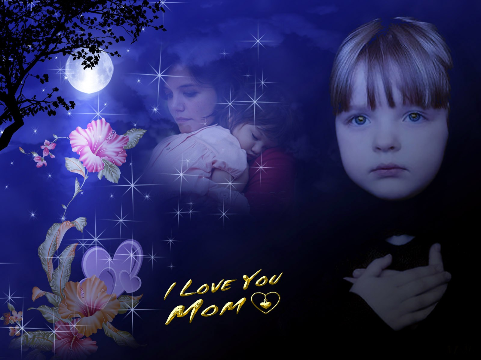 I Love You Mom Wallpaper Mom I Love You Quote Wallpaper 1600x1200