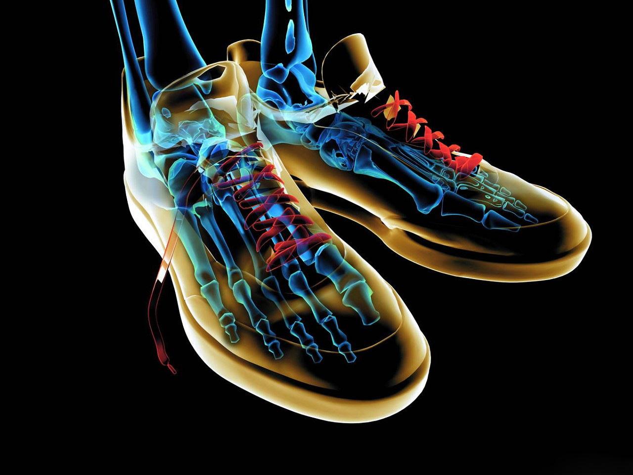 Shoe Effect 3D Abstract HD Wallpaper 1024x768 1280x960