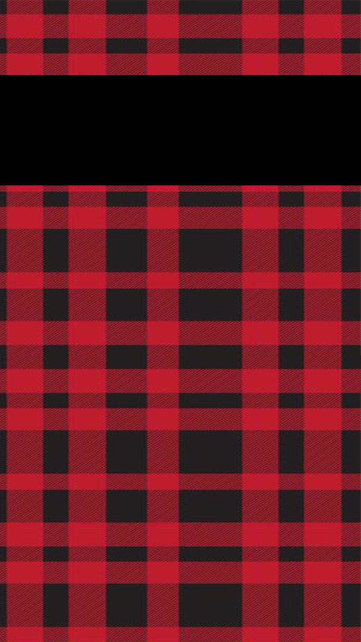 Buffalo Plaid Lock Screen Plaid wallpaper Holiday iphone 1242x2208
