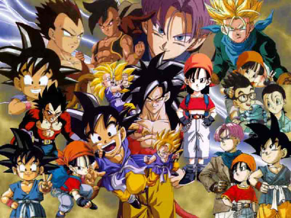 Dragon Ball Z Gt images all chaters wallpaper and background photos 600x450