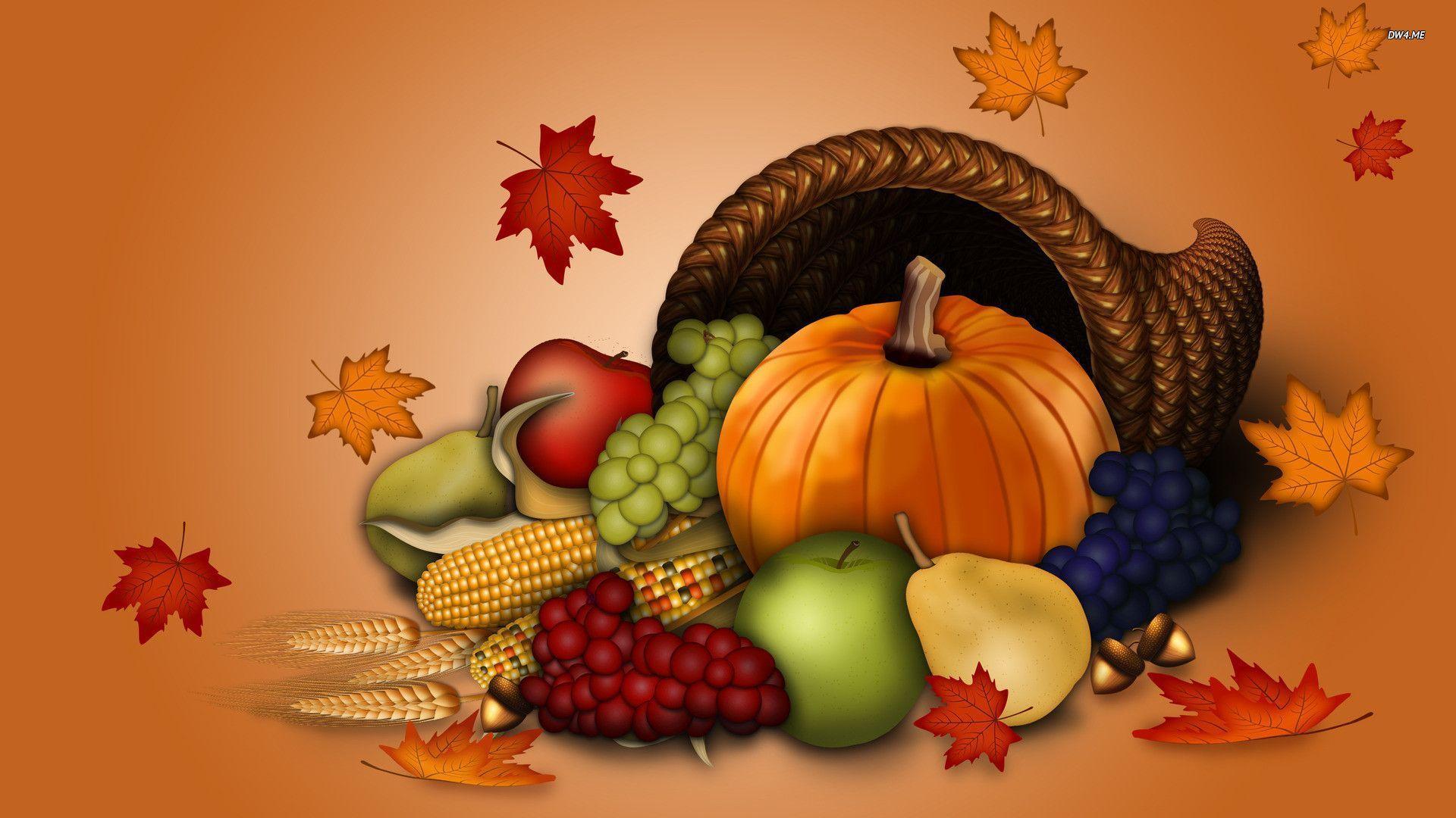 3D Thanksgiving Wallpapers 1920x1080