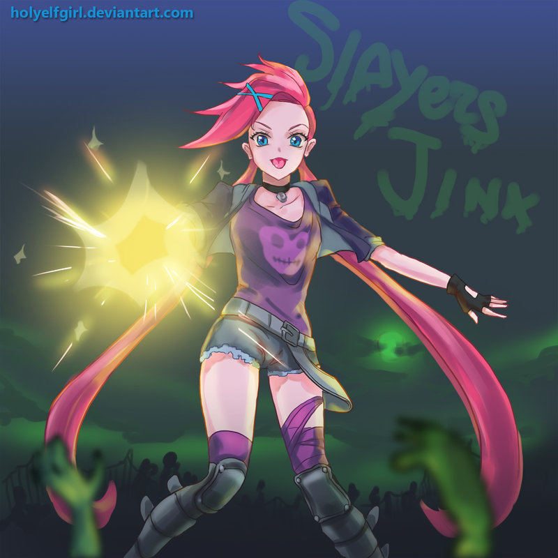 slayer jinx by HolyElfGirl 800x800