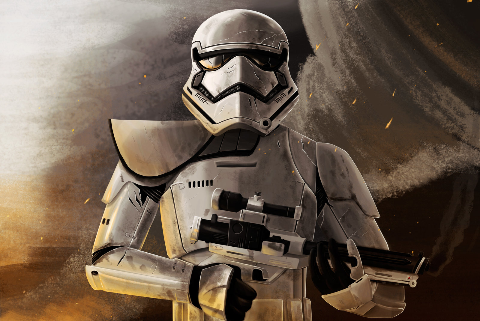 Stormtrooper First order by Dahcoomicman 1600x1071
