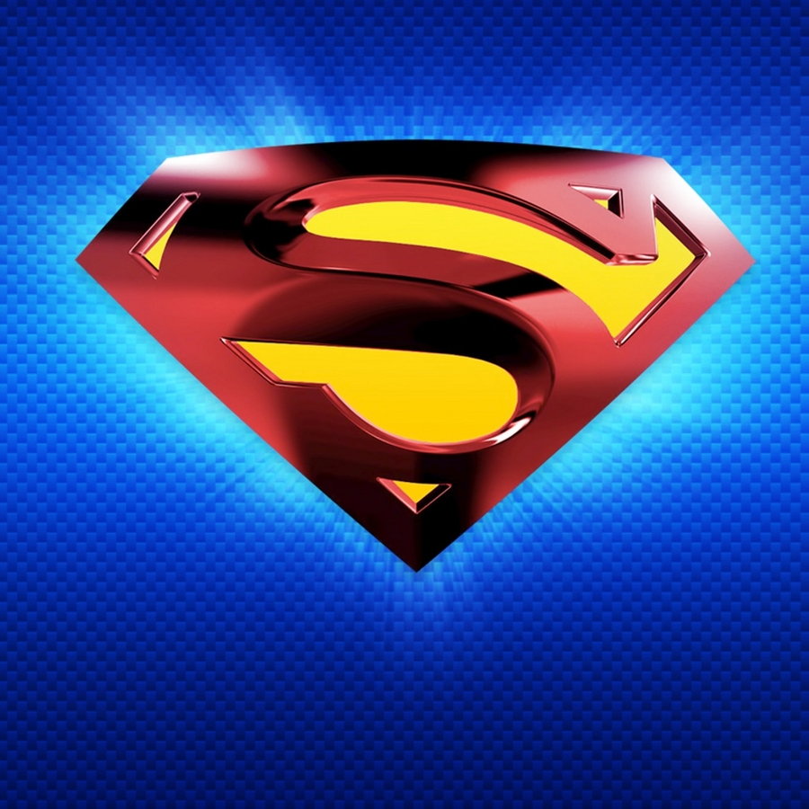 pixel Desktop Wallpapers Superman Logo Ipad Hd Wallpaper 900x900