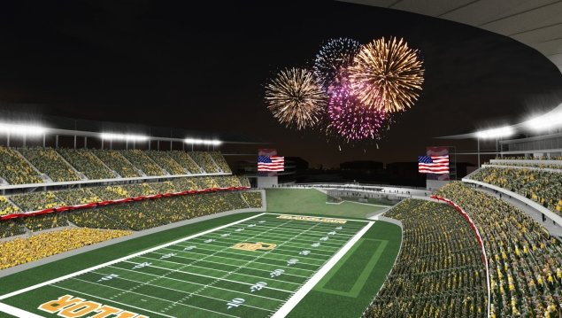 Leadership Gift for New FB Stadium   Baylor Official Athletic Site 635x359