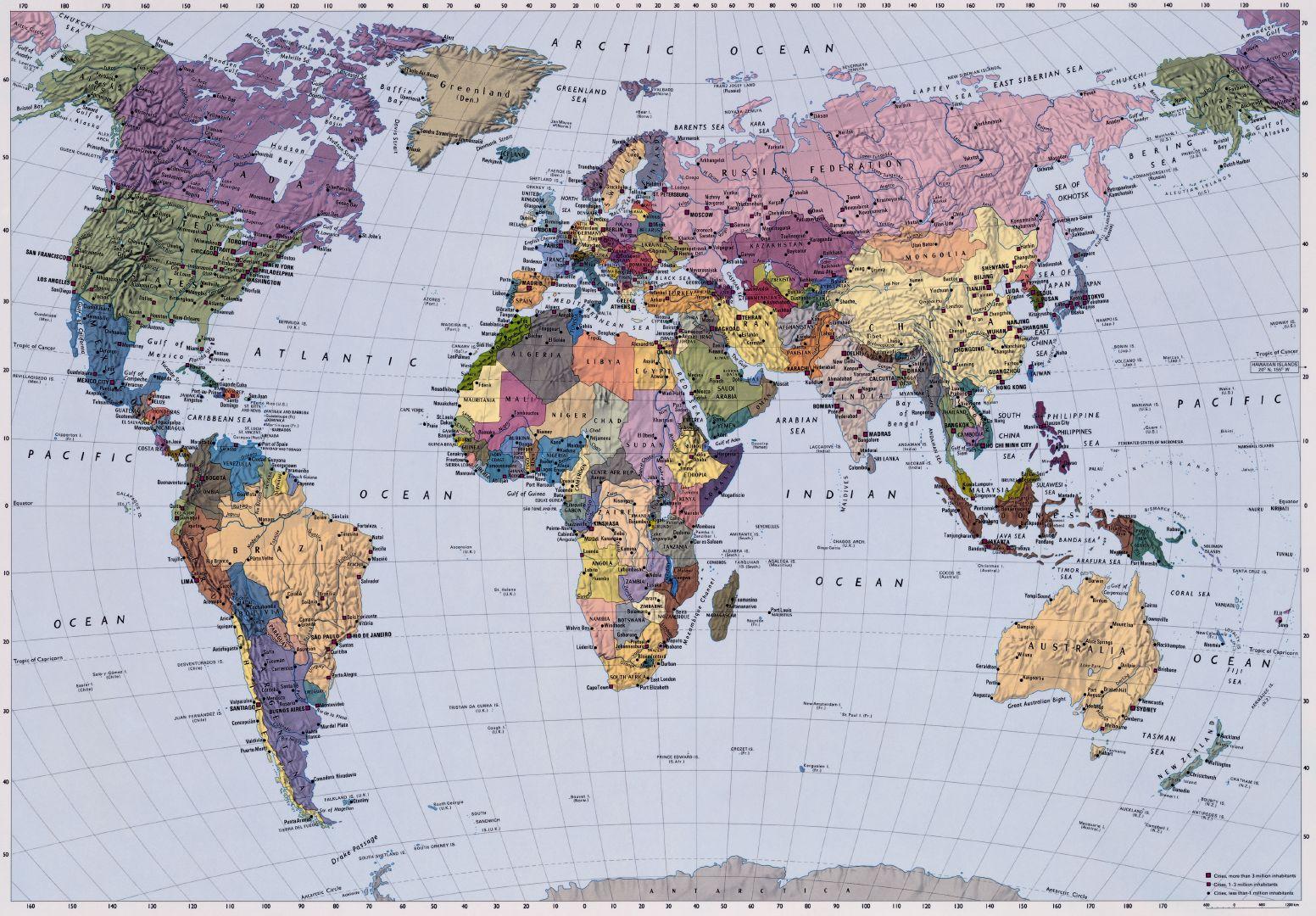 WORLD MAP Wall Mural Photo Wallpaper   FREE PASTE   270x188cm eBay 1552x1080