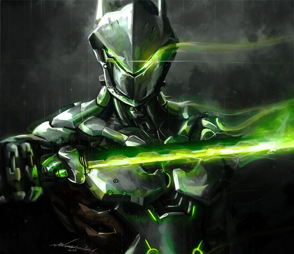 Genji Redux by Nocluse Overwatch wallpapers Overwatch genji 962x831