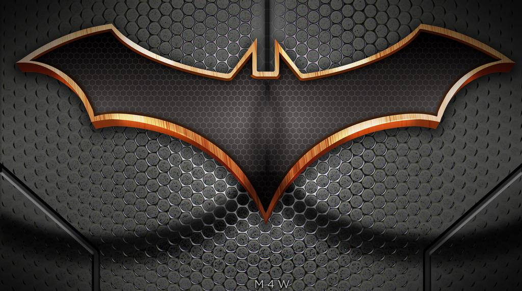 Batman Rebirth Logo Wallpaper by M4W006 1024x571