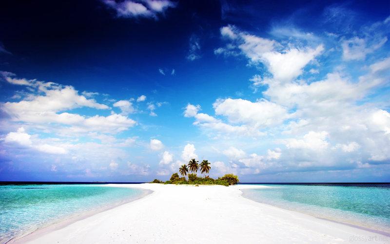 Paradise Island Wallpaper by nxxos 800x500