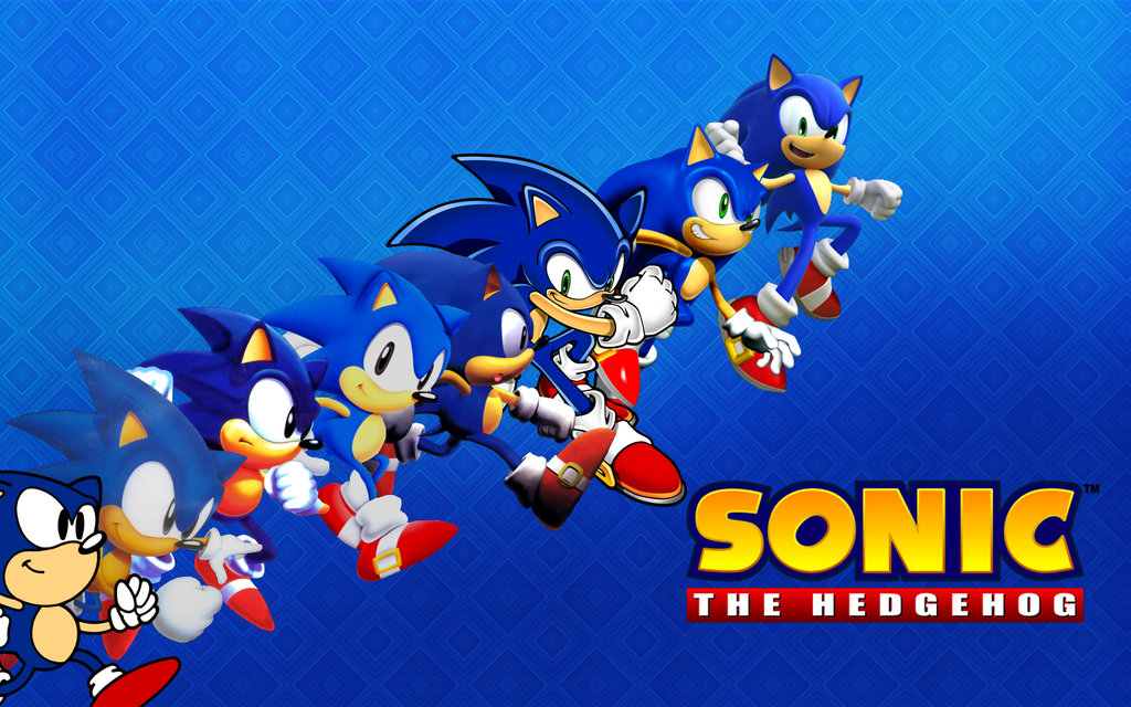 Sonic the Hedgehog TIME wallpaper by XxNinja PikachaoxX on 1024x640