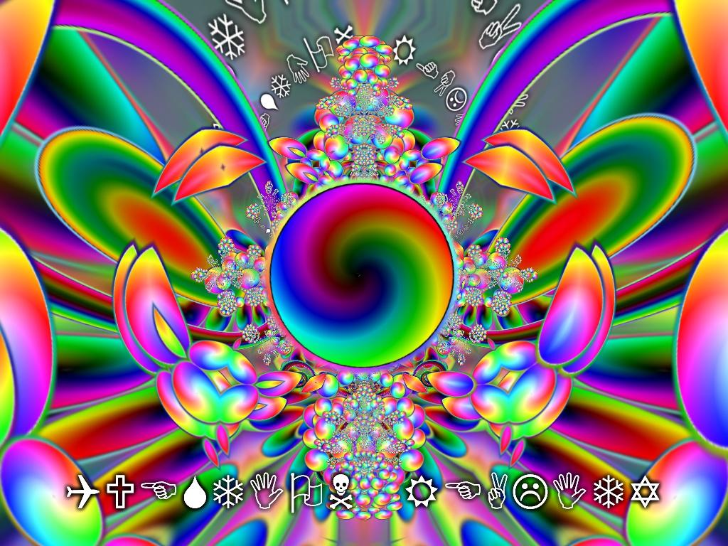 Trippy Wallpaper Art Download Wallpaper DaWallpaperz 1024x768