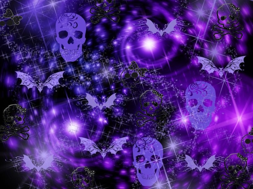 Purple Goth Wallpapers - WallpaperSafari