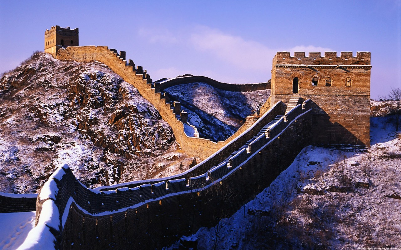 Architecture Wallpapers Great Wall Of China Wallpapers 1280x800