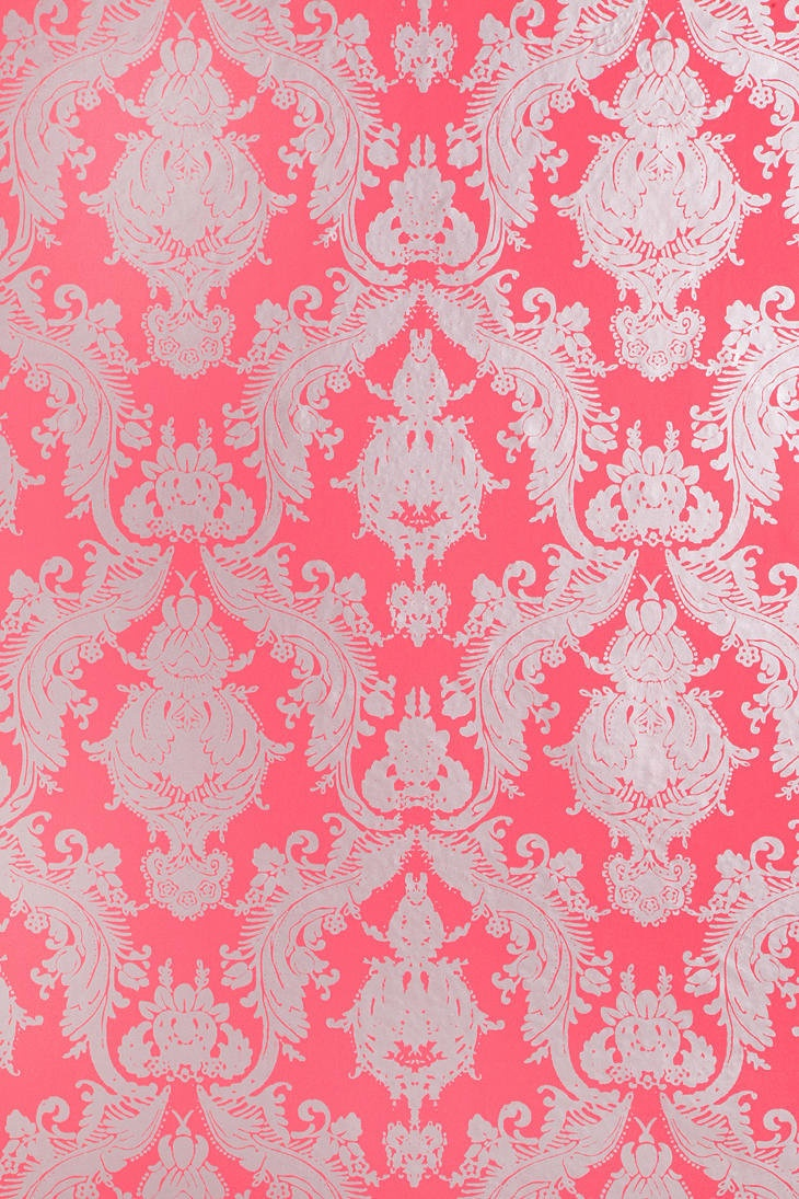 Damsel Wallpaper   Coral Wall Meets Floor A Love Story Pinterest 730x1095