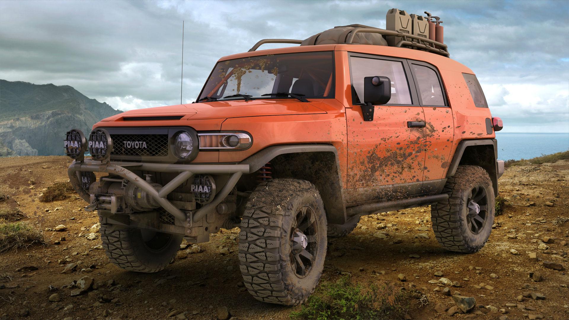 539389 toyota fj cruiser mud offroad 1920x1080 www 1920x1080
