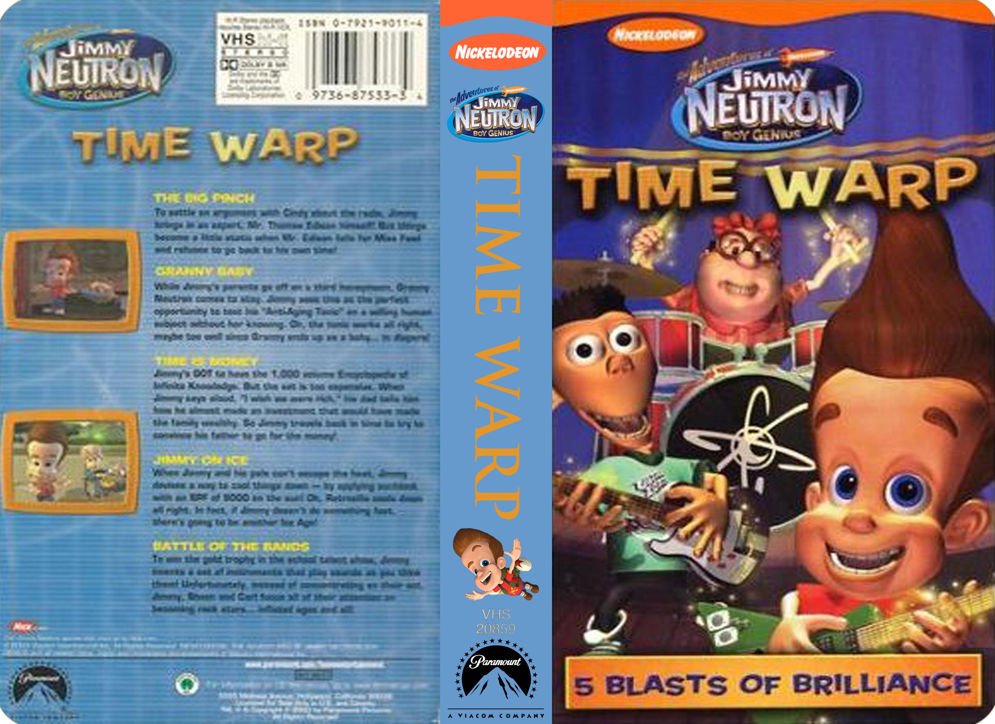 Jimmy Neutron images Nickelodeons Jimmy Neutron Time Warp VHS HD 3434x2499