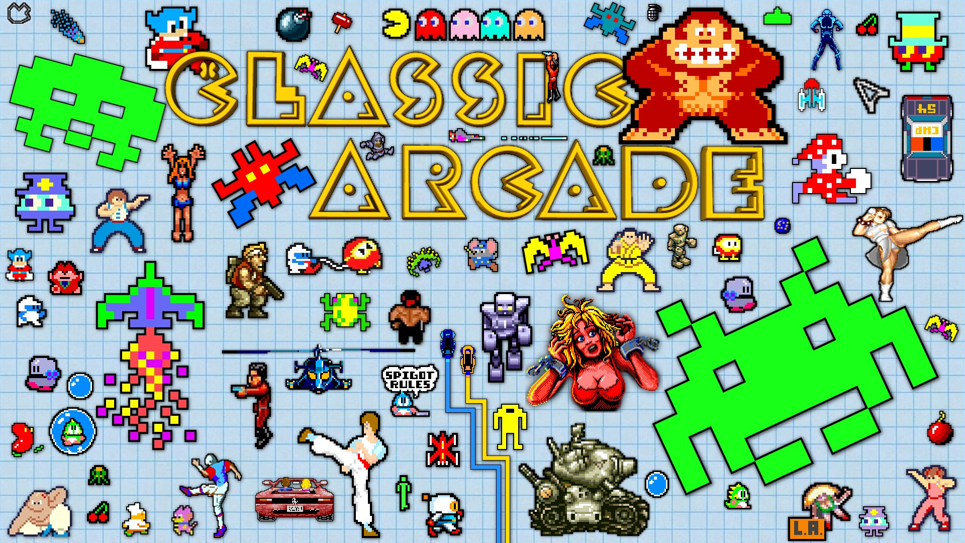 Classic Video Game Wallpaper Classic video game 1920x1080