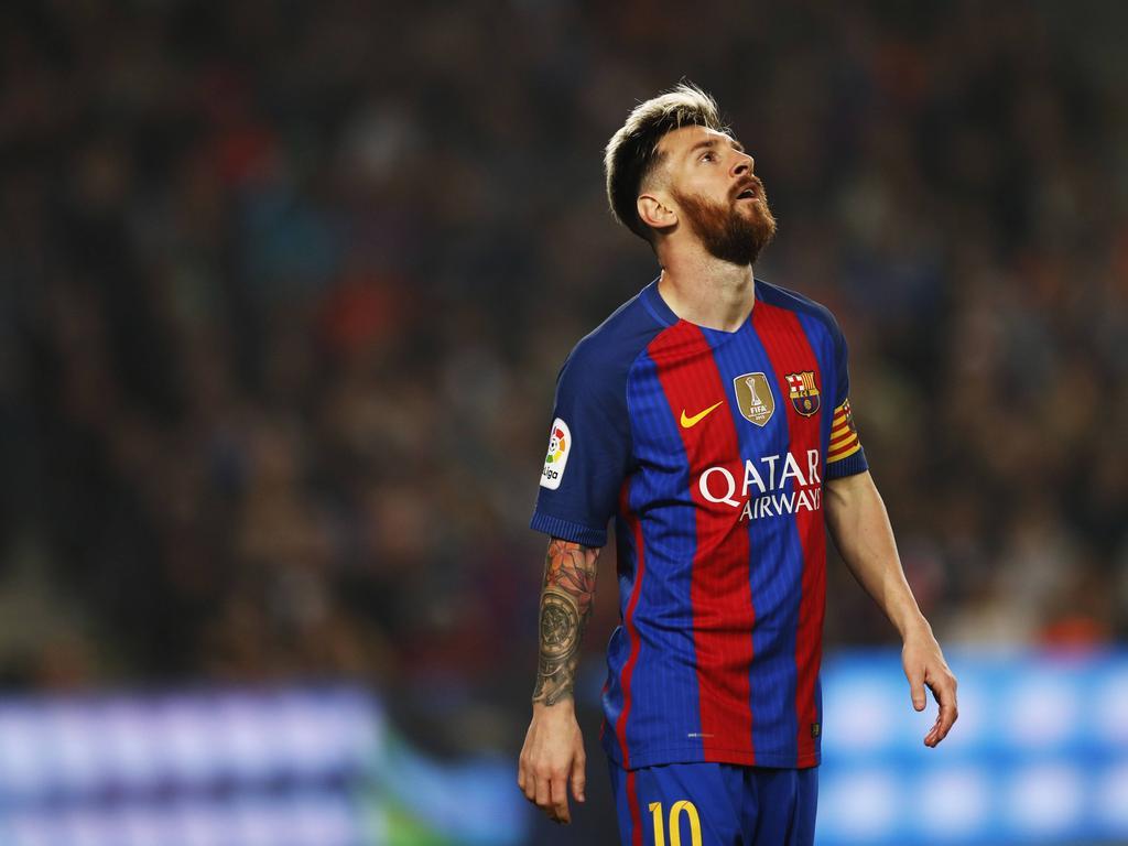 Primera Divisin News Luis Enrique hopeful over Messi 1024x768