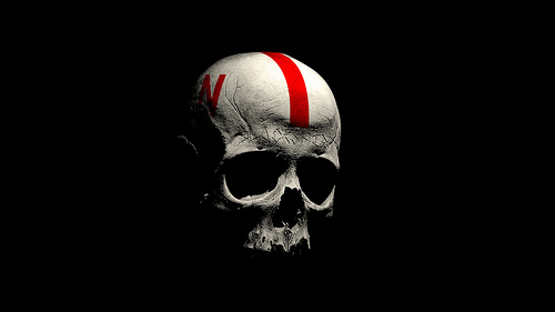 Husker Blackshirt Skull Desktop Wallpaper This is the seco 500x281