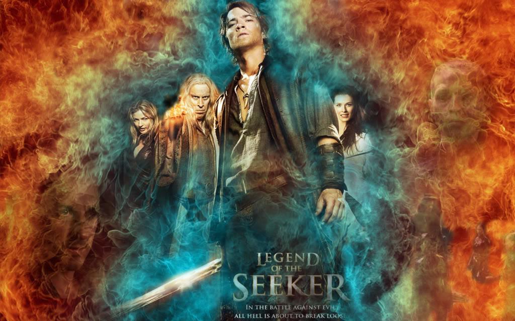 Legend of the Seeker   Wallpaper fire photo legend of the seeker wall2 1024x640