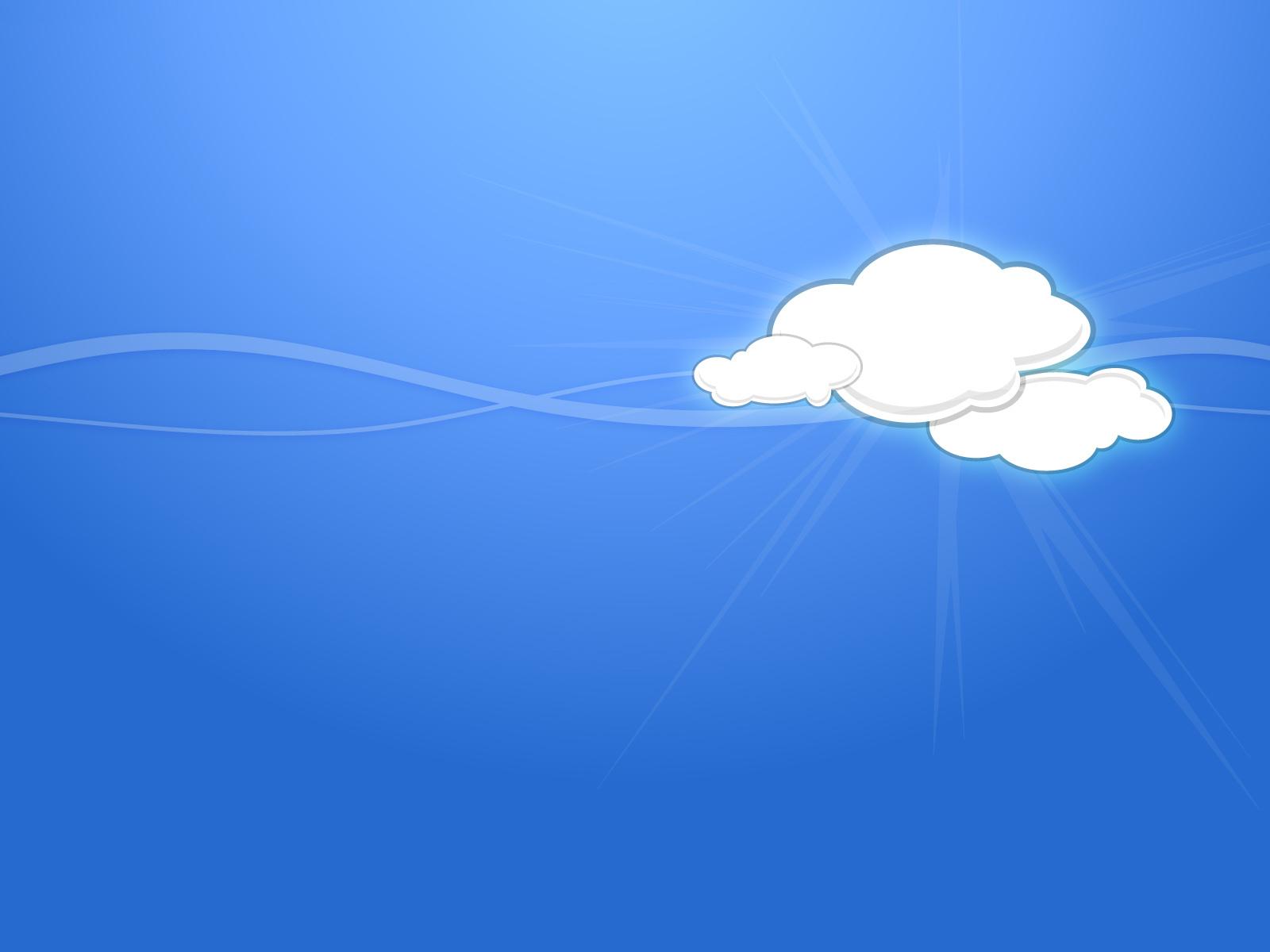 Simple Sky Cloud HD Wallpaper Simple Sky Cloud Wallpapers for Desktop 1600x1200