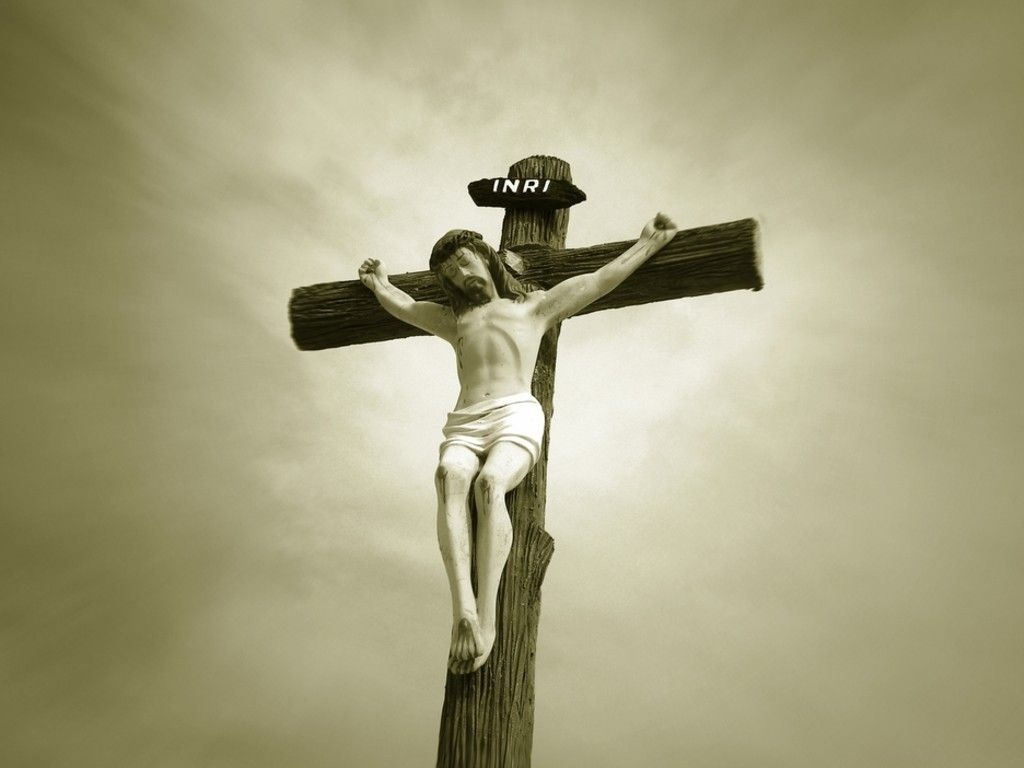 Jesus Crucifixion Wallpaper On The Cross CloudPix 1024x768